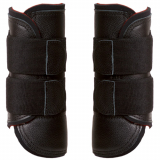 tendon boot - Leather-Bandage-Boot - black