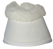 EquiSafe - Bell Boot Synthetic Fur - white