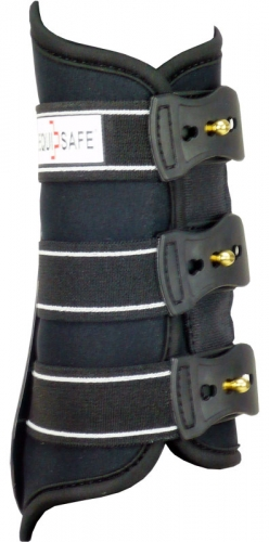 NEW EquiSafe-Stick-Spoon-Boot black