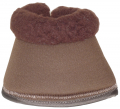 EquiSafe - Bell Boot Synthetic Fur - brown
